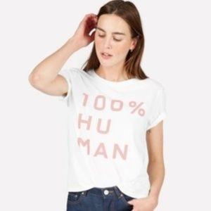 🌎 Limited Edition Everlane 100% Human Box Cut Tee